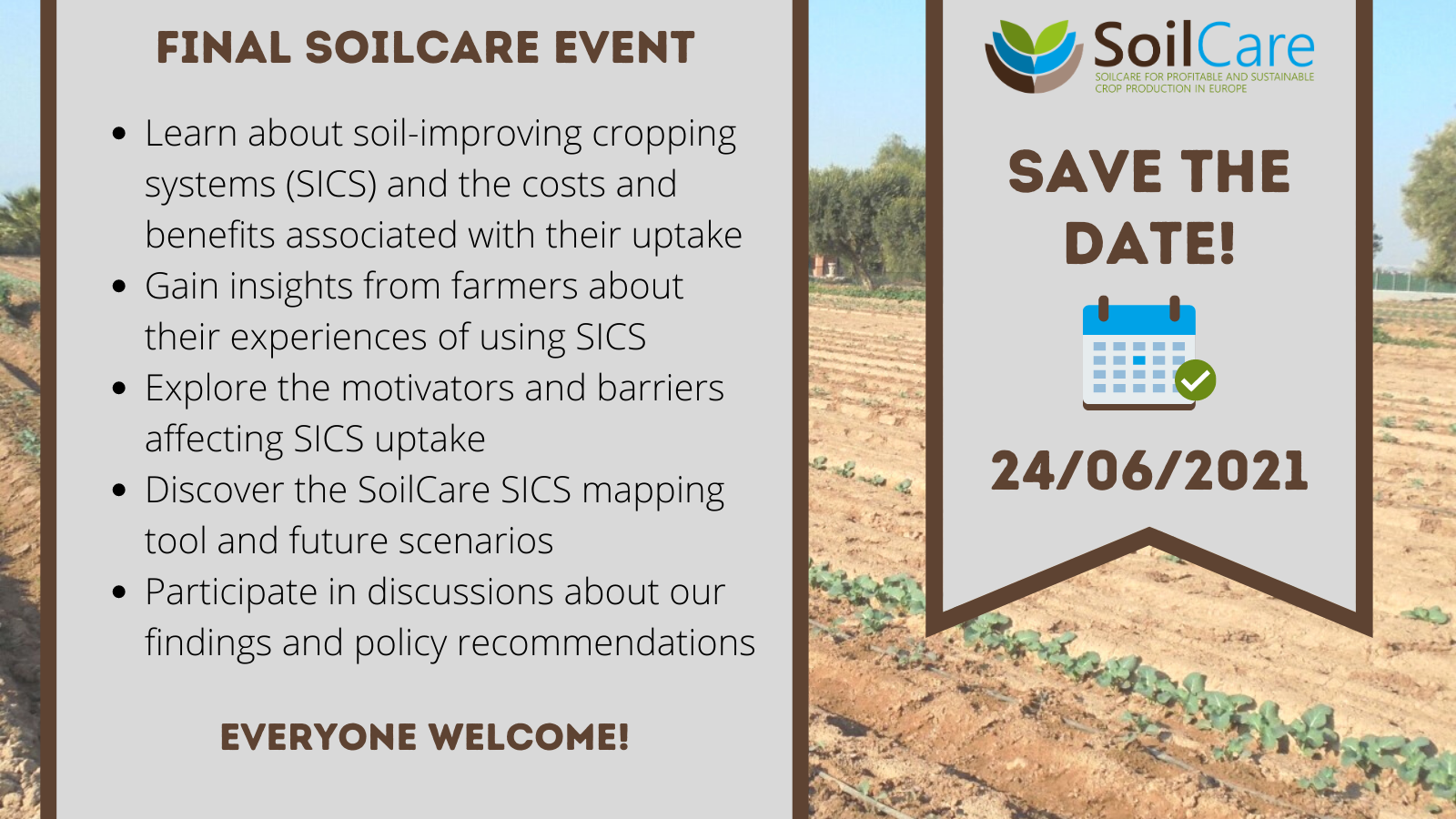 SoilCare policy conf save the date 4