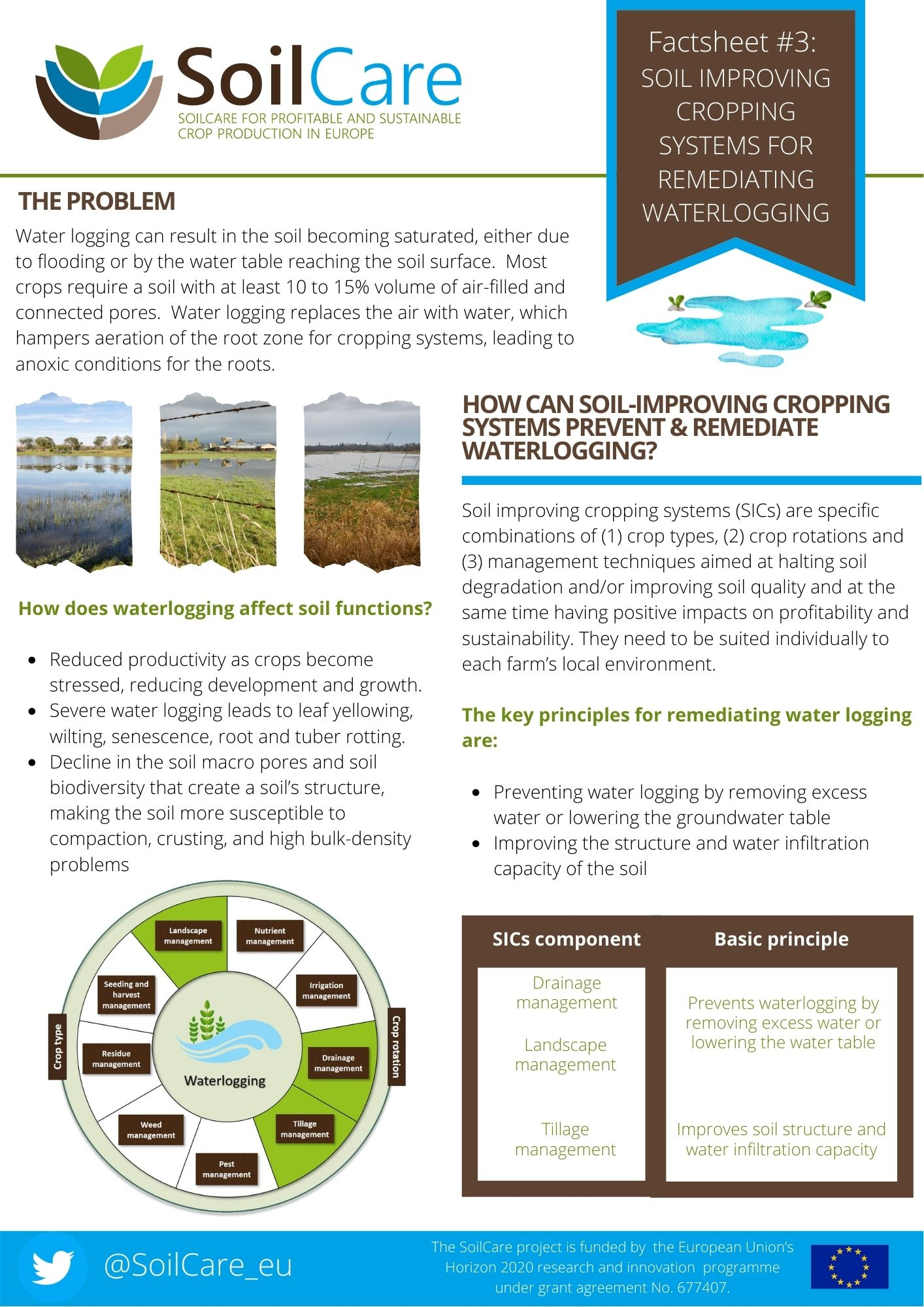 SoilCare waterlogging factsheet 2