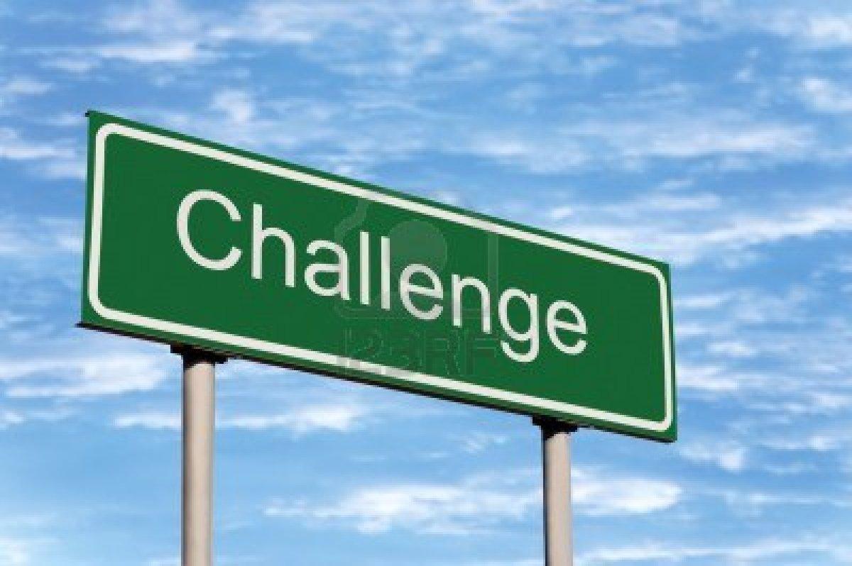 utfordre