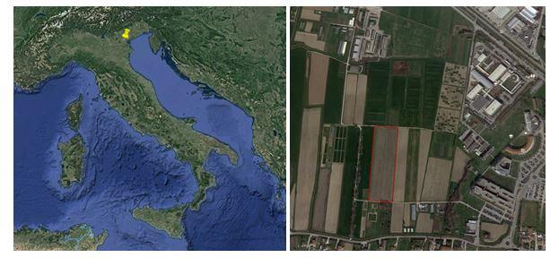 Combinato-undersøgelsessted og Italien