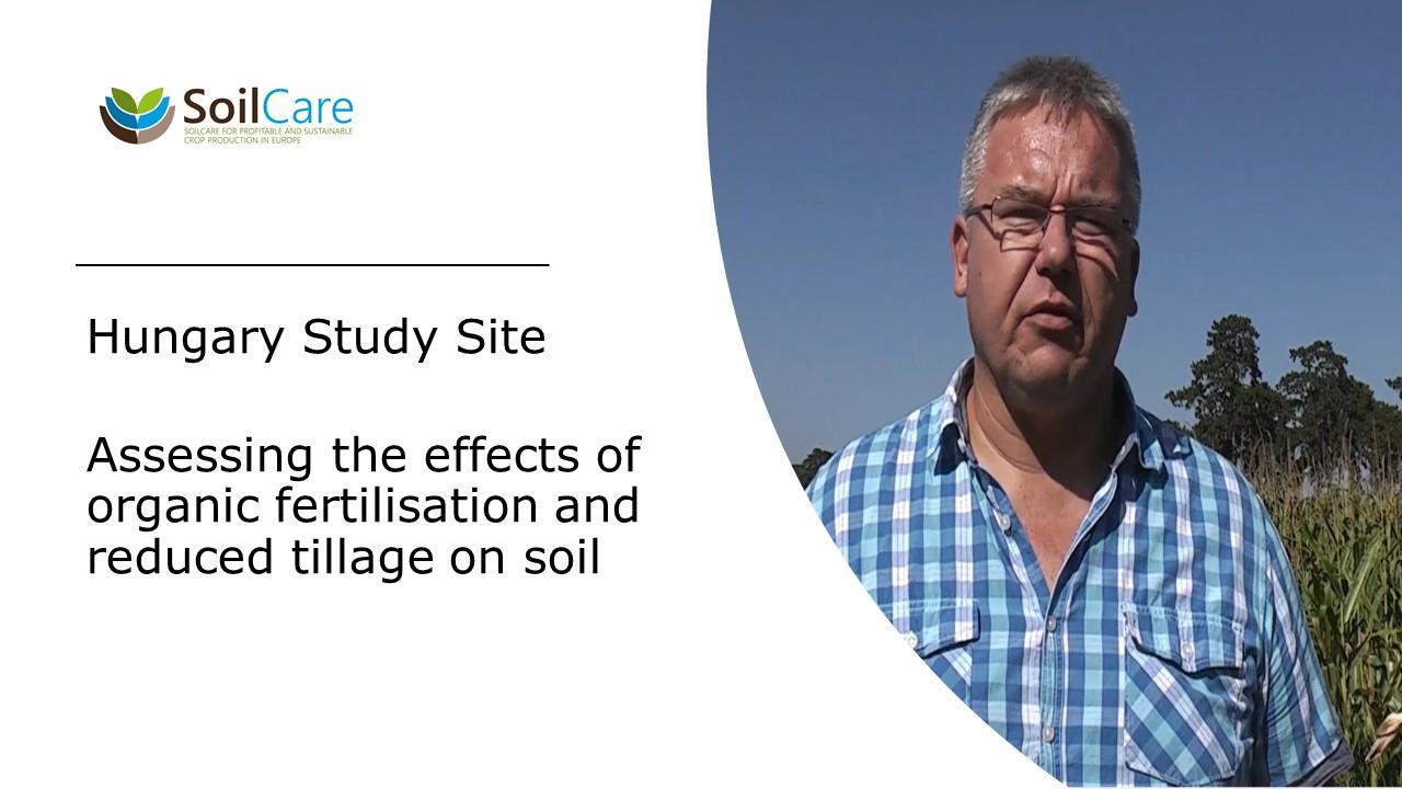 Přední snímek videa SoilCare